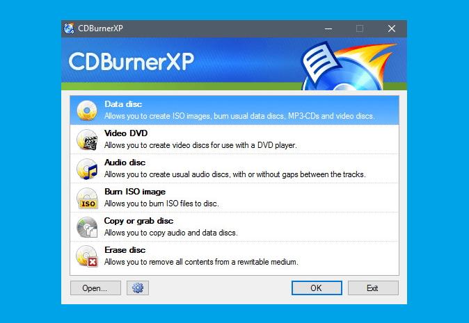 CDBurnerXP Free Download