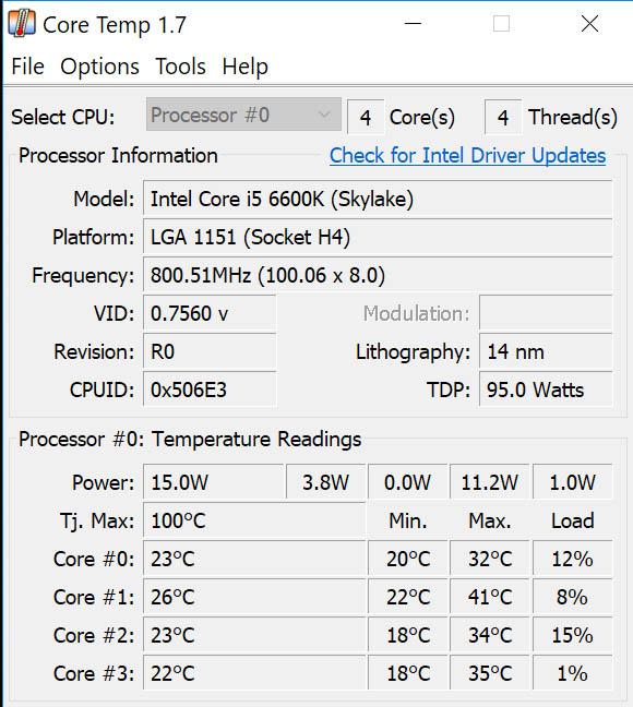 Download Core Temp for Windows